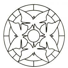 Small Picture mandalas for kids Easy Mandala Coloring Page For Children