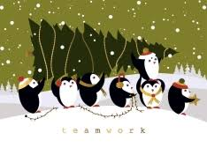 Shop Christmas Cards with Photos and Illustrations of Penguins