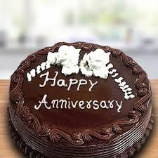 Buy Send Chocolate Anniversary Cake Half Kg Online Way2flowers