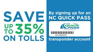 Nc Quick Pass Sign Up Save