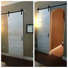 photo 2 of 8 modern barn door for arched doorway 96 inch 48 x sliding interior modern slab solid wood inch barn door 96