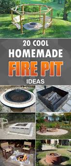 Stacked Stone Fire Pit best 25 homemade fire pits ideas easy fire pit 1930 by uwakikaiketsu.us