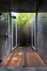 Best of Both Worlds with an Indoor Outdoor Shower
