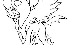 Eevee Evolutions Coloring Pages Coloring Pages Pokemon Eeveelution