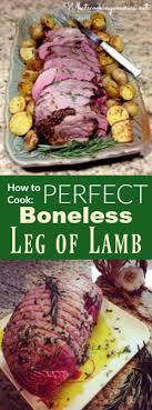 Perfect Boneless Leg Of Lamb Recipe