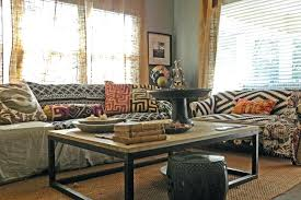 inspired burlap curtains in eclectic with printed sofa next burlap curtain panels inspired burlap curtains in stylish burlap kitchen curtains