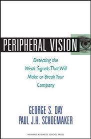 Peripheral Awareness Chart Amazon Com Peripheral Vision Detecting The Weak Signals