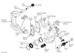 6jsw1 cadillac deville replace rear caliper bracket ford focus mk1 1 6 engine diagram at