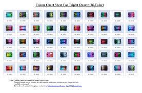Quartz Stone Colour Chart Doublet Triplet Quartz Chart Earth Stone Inc