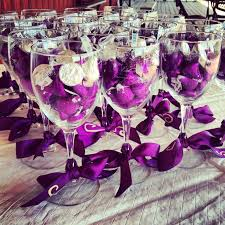 25 best ideas about wine glass favors on diy