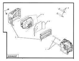 kohler engine parts model xt sears partsdirect exhaust