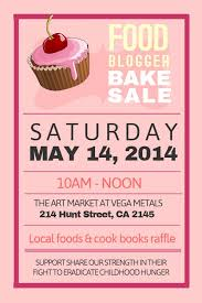 Flyers For Fundraising Events Bake Sale Flyer Template Charity Campaigning And Fundraising