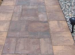 patio stones. Buff Blend Border Patio Stones D