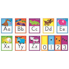 alphabet picture cards awesome animals alphabet cards bulletin board set