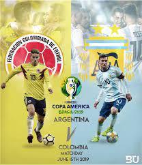 Colombia vs Argentina. Huge game ...