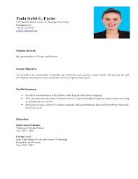 resume - any position. Paula Isabel G. Enciso 398 Jonathan Street, Annex  41, Barangay Sun Valley Paranaque ...