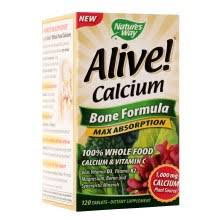 Nature's Way Alive! <b>Calcium Bone Formula</b>, Tablets | Walgreens