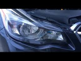 2015 Wrx Bulb Size Chart Subaru Impreza Headlight Replace Video 2011 2012 2013 2014