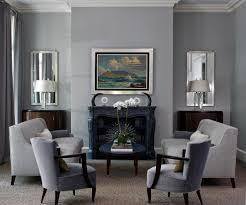 ... Ideas: Living Room, Beige Carpet Grey Walls Living Room Traditional  With Gray Sofa Crown Molding Blue ...