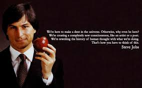 we re here to make steve jobs the best quotes sayings we re here to make