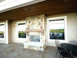 indoor outdoor fireplace indoor outdoor fireplace double sided indoor outdoor fireplaces double sided fireplace see through