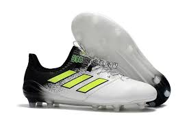 adidas ace 17 1 leather fg white core black solar yellow 0