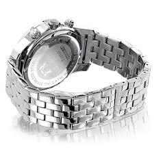 luxurman diamond watches mens designer watch 0 25ct luxurman diamond watches mens designer watch 0 25ct back