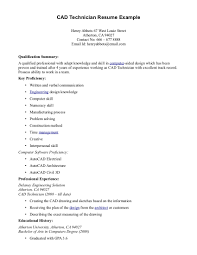 Cad Technician Cover Letter Examples Cover Letter
