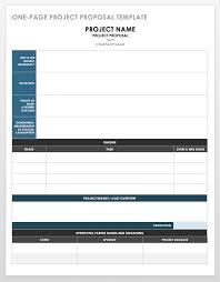 17 Free Project Proposal Templates Smartsheet