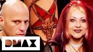 Satan Worshipper Wants <b>Demonic Goat</b> Head Tattoo   Miami Ink ...