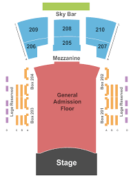 Endstage Ga Floor 2 Seating Chart Interactive Seating