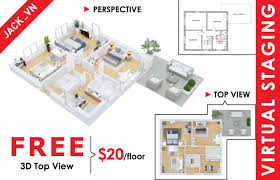 create 3d floor plan for your house by