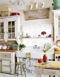 Vintage kitchen furniture Tiny Antique Kitchen With Large Sink Southern Living 12 Shabby Chic Kitchen Ideas Decor And Furniture For Shabby Chic