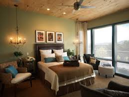 Brown Guest Bedroom