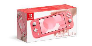 Nintendo Switch Lite (koralle)