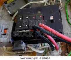 fuse box old fuses stock photo royalty image 123046941 alamy old fuse box stock photo