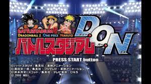 Dragon Ball Z vs Naruto vs One Piece - YouTube