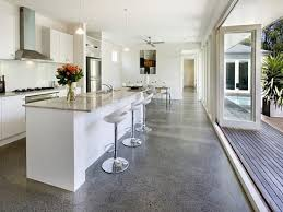 concrete floor home. Concrete Floor Kitchen Polished Floors Modern Options In Contemporary Homes Creative Home