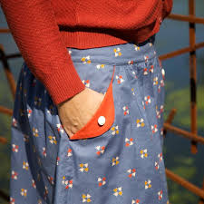 Skirt Patterns With Pockets Mesmerizing Compagnie M Lotta Skirt Printed Pattern Imagine Gnats