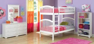 youth bedroom sets girls: pure white kids bedroom sets color scheme feats with purple wall paint ideas and pink fluffy