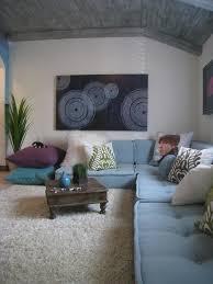 roche bobois floor cushion seating. Roche-bobois-sofa-Kids-Contemporary-with-aqua-area-rug-artwork-blue-seat- Cushions Roche Bobois Floor Cushion Seating