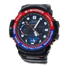 casio g shock gulfmaster mens analog digital watch sport black gn image is loading casio g shock gulfmaster mens analog digital watch