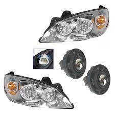 Pontiac G6 Light Bulb Amazon Com Headlight Fog Driving Light Lamp Kit Set Of 4