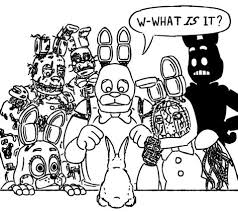 Fnaf Sister Location Free Coloring Pages
