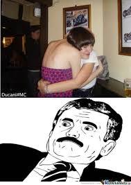 love funny girls wtf meme hugs Awkward awkward pictures romantice ... via Relatably.com