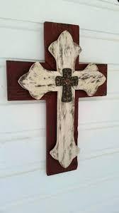 cross for wall decor rustic cross wall decor rustic wood wall hanging cross great rustic cross