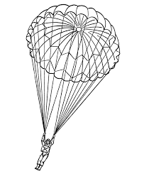 The first worksheet it's easy for level 1 but the second it's more dificult and it is for level 2. Parachute Coloring Pages Coloring Home