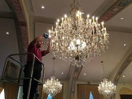 how to clean crystal chandelier without taking it down chandelier cleaning clean crystal chandelier vinegar