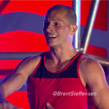 kevin bull american ninja warrior with hair. brent steffensen turns in fastest time on \u0027american ninja warrior\u0027 2015 vegas finals stage kevin bull american warrior with hair e