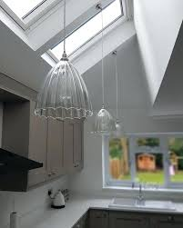 sloped ceiling lighting fixtures. Lighting For Sloped Ceiling Ribbed Shades On Sloping Fixtures Slanted